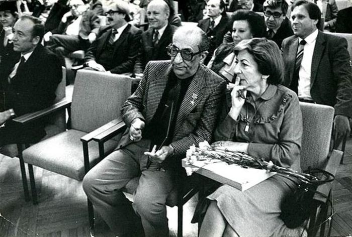 Георгий и Натела Товстоноговы. / Фото: www.cityspb.ru