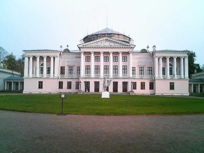 Останкинский дворец графа Шереметьева. / Фото: www.drugiegoroda.ru