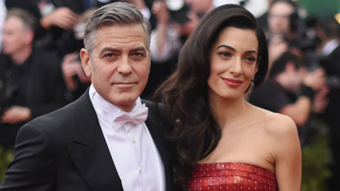 Джордж и Амаль Клуни. / Фото: www.z1035.com