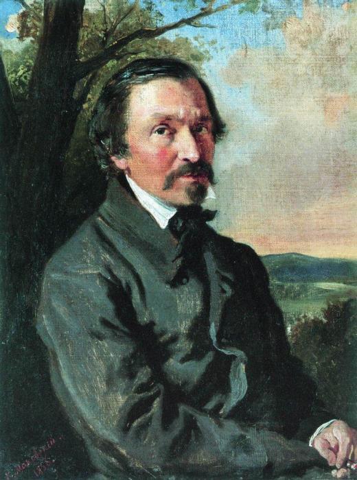 «Портрет Н.А.Некрасова. 1856», Маковский Константин Егорович. / Фото: www.stene.ru