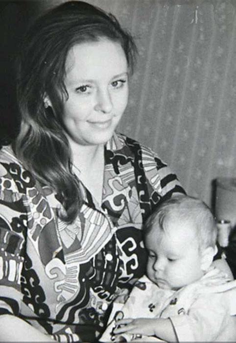 Галина Мшанская с Ксюшей, 1973 год. / Фото: семейный архив