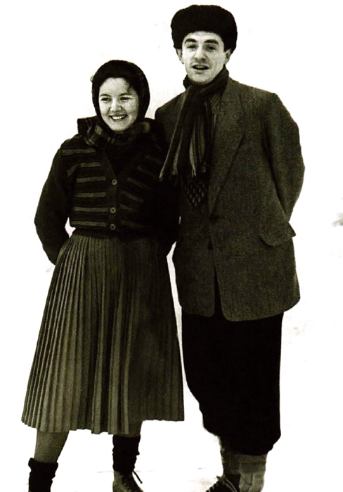 Марк Захаров и Нина Лапшинова. / Фото:  www.savepic.org
