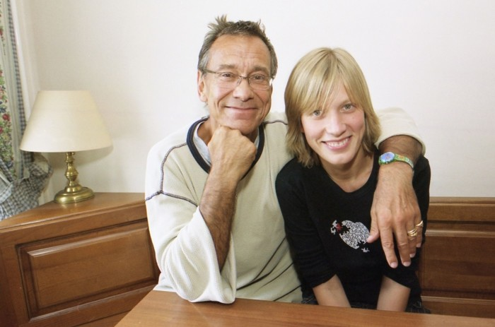 Андрей Кончаловский с дочерью Дашей. / Фото: www.woman.ru