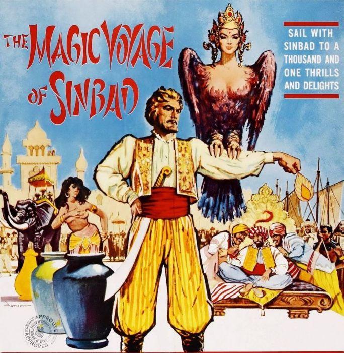 Плакат фильма «Волшебное путешествие Синдбада».  / Фото: www.tmdb.org
