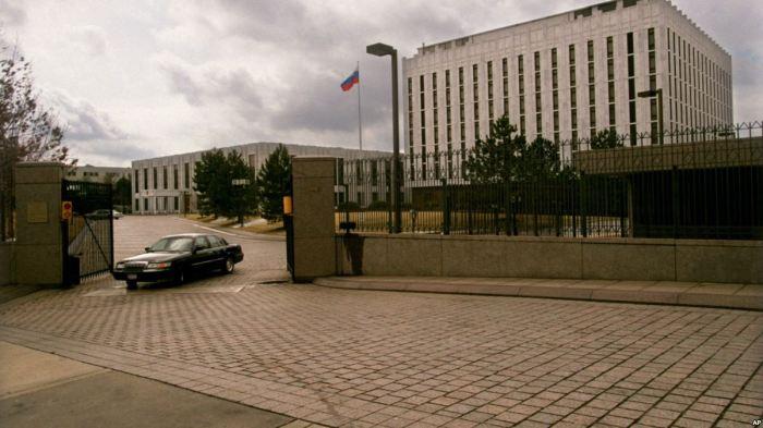Посольство России в Вашингтоне. / Фото: www.voanews.com