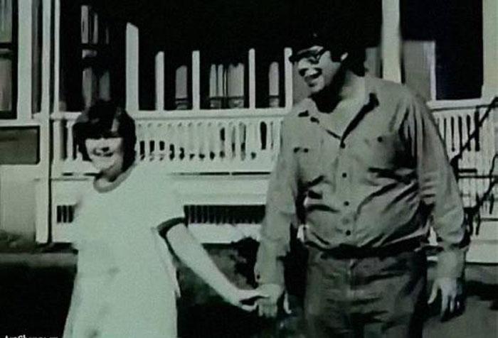 Стивен Кинг и Табита Спюрс в юности. / Фото: www.mediaspy.ru
