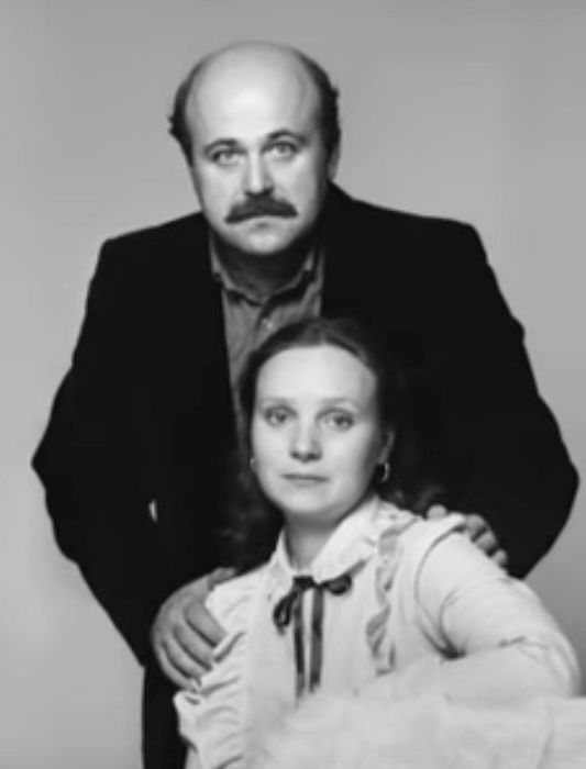 Евгения Глушенко и Александр Калягин. / Фото: www.tvc.ru