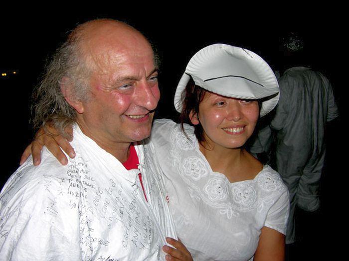 Вячеслав Полунин и Елена Ушакова. / Фото: www.livejournal.com