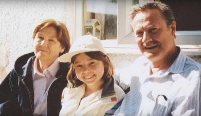 Супруги с дочерью. / Фото: семейный архив