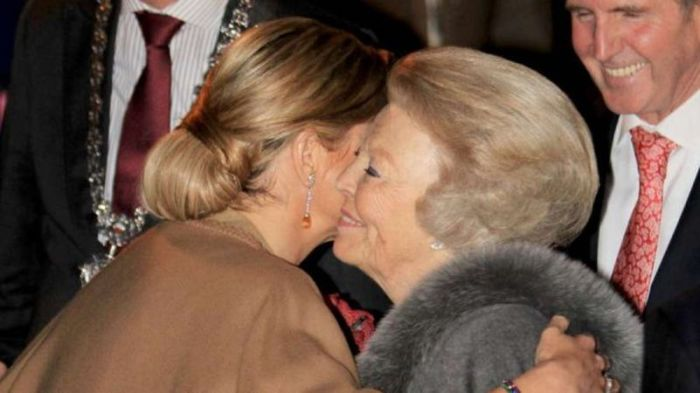 Максима сразу полюбилась королеве Беатрикс. / Фото: www.europe-today.ru