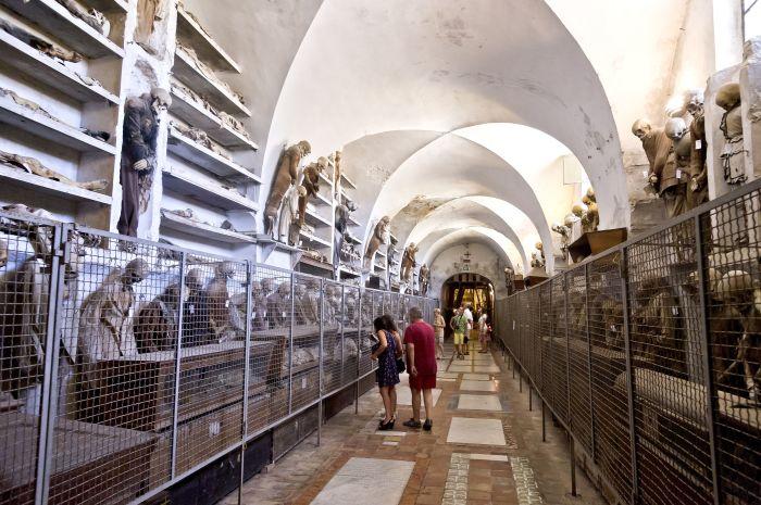 Катакомбы Капуцинов в Палермо. / Фото: www.tqn.com