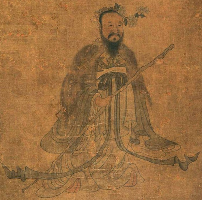 Цюй Юань. / Фото: www.wikimedia.org