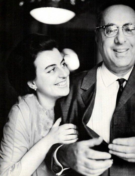 Юрий Левитан с дочерью Натальей. / Фото: www.mypage.ru