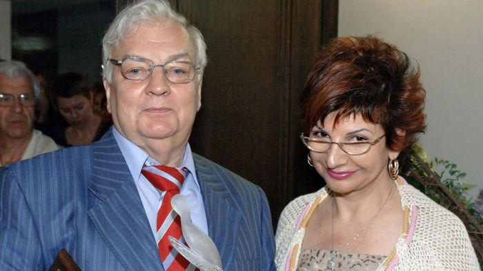 Михаил Державин и Роксана Бабаян. / Фото: www.gazeta.ru