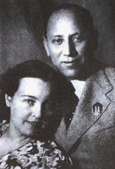 Зоя Воскресенская и Борис Рыбкин. / Фото: www.e-reading.life