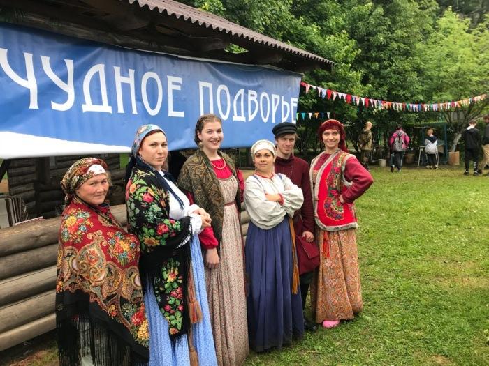 Здесь возрождаются русские традиции и обряды. / Фото: www.vk.com/zasosye