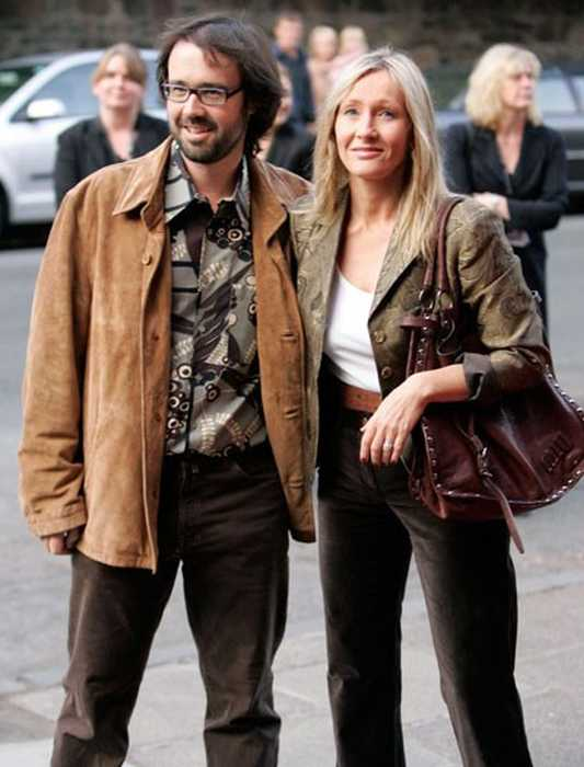 Джоан Роулинг и Нил Мюррей в 2006 году. / Фото: www.reuters.com