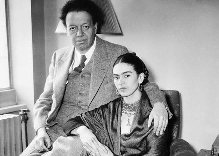 Фрида Кало и Диего Ривера. / Фото: www.rosphoto.com