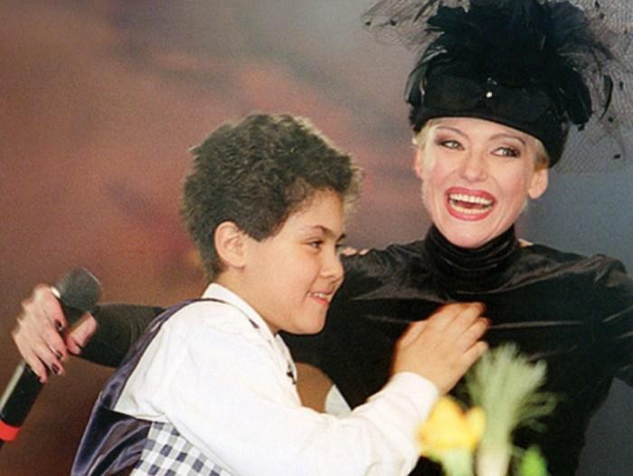 Ирина Понаровская с сыном. / Фото: www.sensum.club