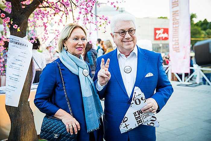 Владимир Винокур с Тамарой Перваковой. / Фото: showbiz-news.ru