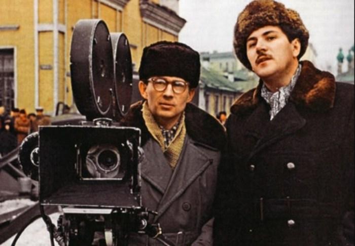 Сергей Полуянов и Григорий Чухрай. / Фото: www.kino-teatr.ru