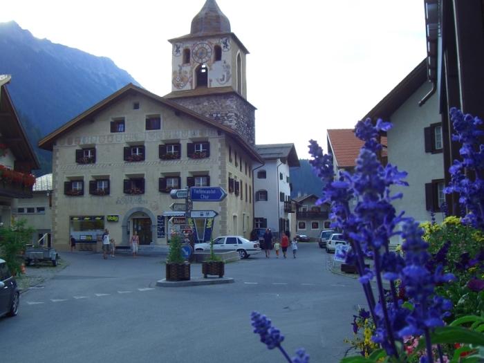 Бергюн. / Фото: www.ferienwohnung-berguen.ch