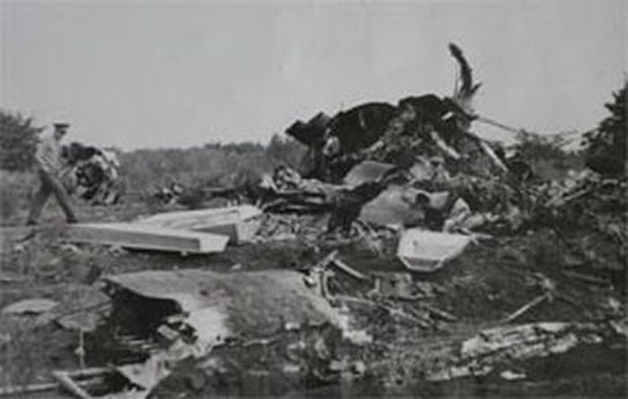 11 августа 1979 года. Обломки ТУ-134А. / Фото: www.aviaforum.ru