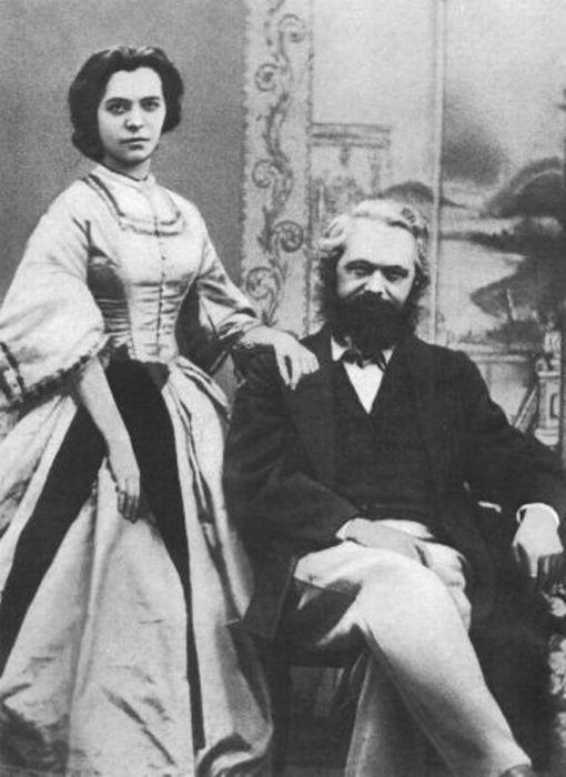 Карл Маркс и Женни Фон Вестфален. / Фото: www.postila.ru
