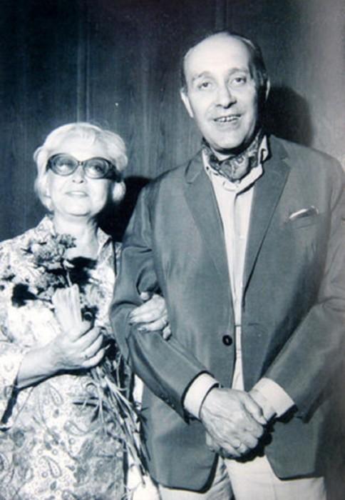Янина Жеймо и Леон Жанно. / Фото: www.colors.life