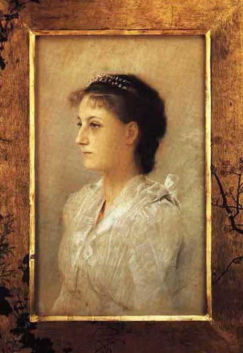 Эмилия Флёге, художник Густав Климт, 1891. / Фото: www.bestlj.ru