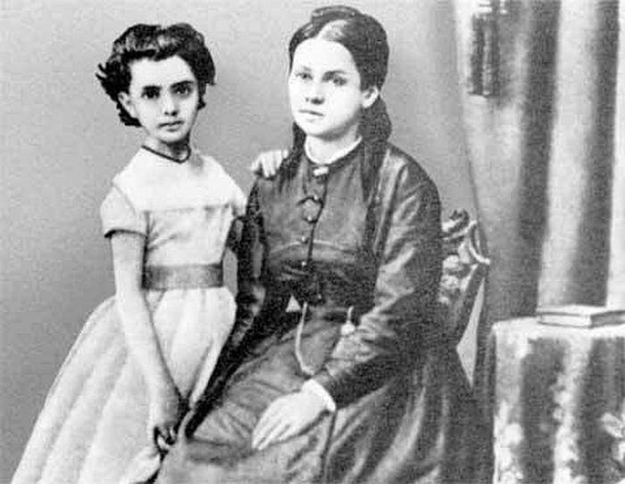 Женни Маркс с дочерью Женни. / Фото: www.litmir.me