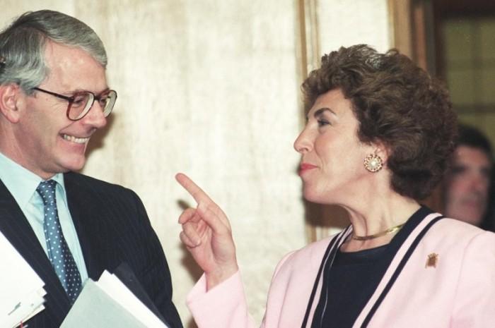 Джон Мейджор и Эдвина Карри. / Фото: www.mix.tn.kz
