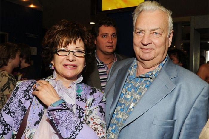 Михаил Державин и Роксана Бабаян. / Фото: www.vokrug.tv