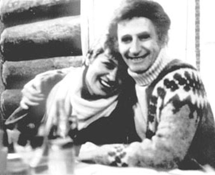 Галина с Марселем Марсо, 1971. / Фото: www.chayka.org