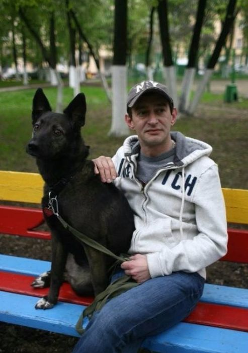 Константин Хабенский и его Фрося. / Фото: www.fishki.net