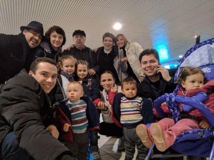 Вадим Елизаров и Нина Маршева в кругу семьи. / Фото: www.i.io.ua