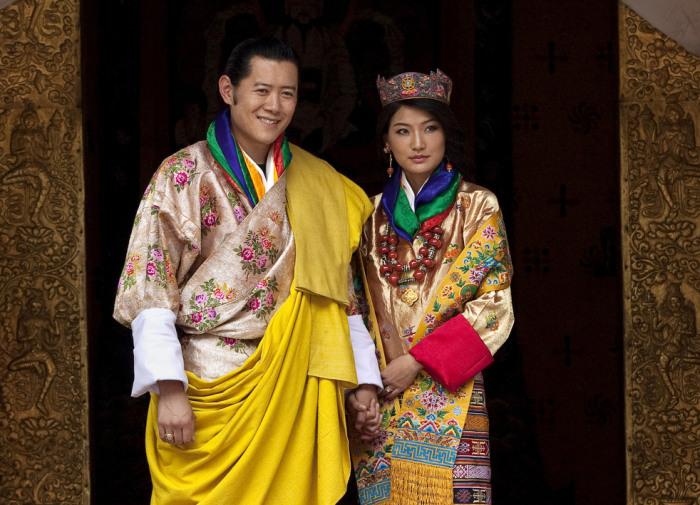 Свадьба Джигме Кхесар Намгьял и Джецун Пема. / Фото: www.fototelegraf.ru