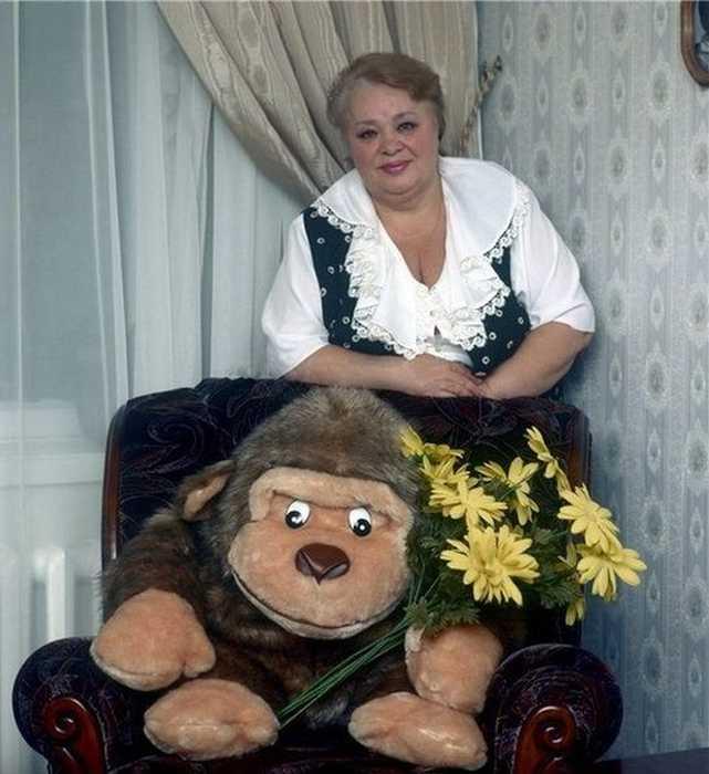 Она до конца сохранила свою любовь к мужу. / Фото: www.look-news.ru