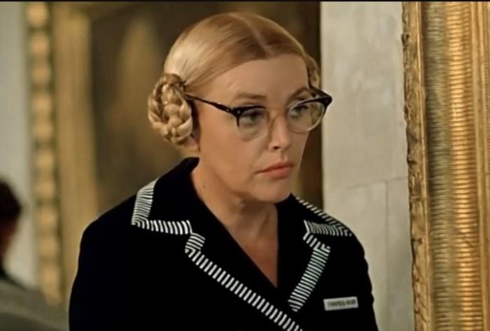 Нина Агапова, кадр из фильма «Старики-разбойники». / Фото: www.kino-teatr.ru