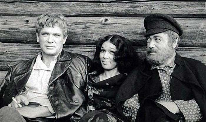 На съёмках фильма «Вечный зов». / Фото: www.kino-teatr.ru