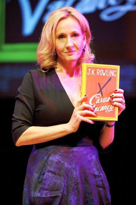 Джоан Роулинг. / Фото: www.glamour.ru