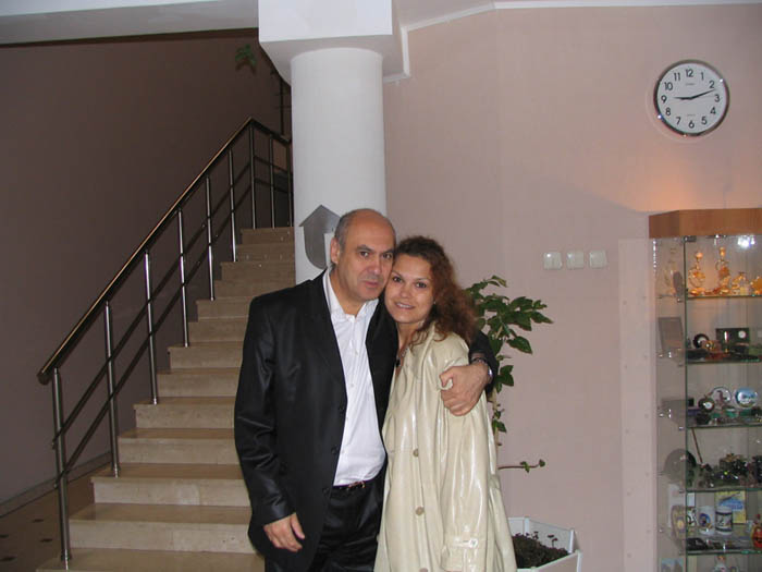 Ян Арлазоров с Аленой. / Фото: www.fortural.ru