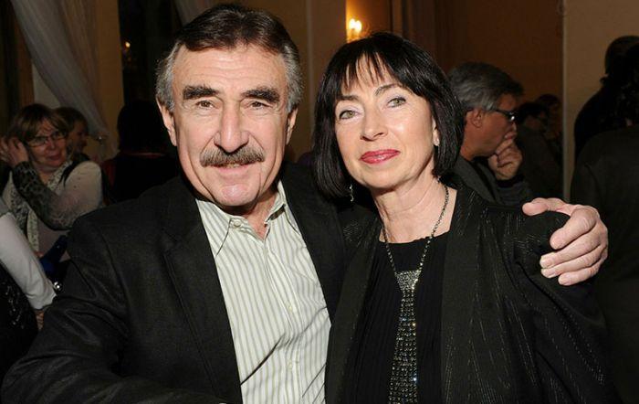 Леонид Каневский и Анна Березина. / Фото: www.tvc.ru