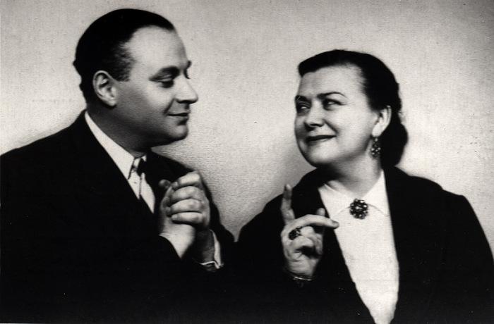 Мария Миронова и Александр Менакер. / Фото: www.diary.ru