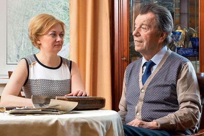 Татьяна Виноградова и Вячеслав Шалевич. / Фото: www.7days.ru