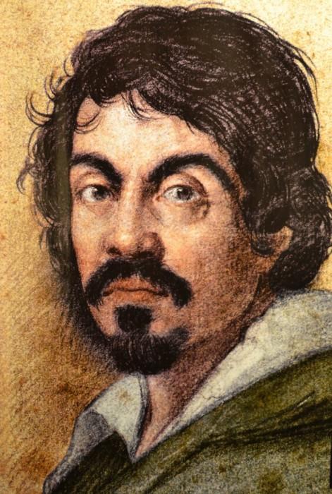 Портрет Микеланджело Меризи да Караваджо кисти Оттавио Леони.  / Фото: www.passionforpaintings.com