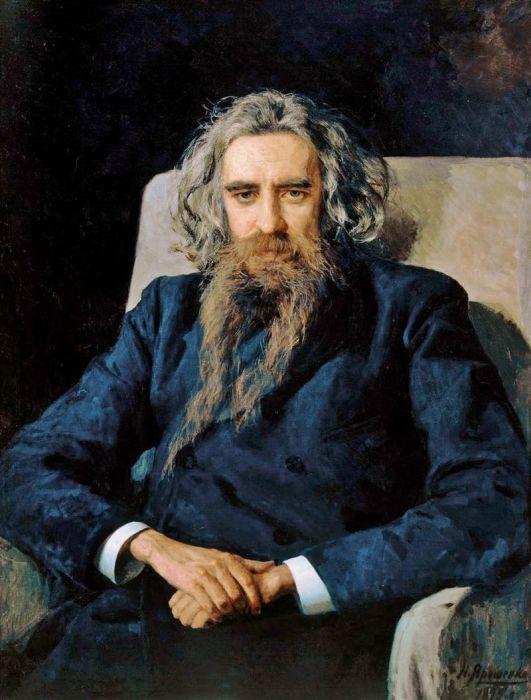 Владимир Соловьёв, портрет написан Николаем Ярошенко. / Фото: www.pinterest.pt
