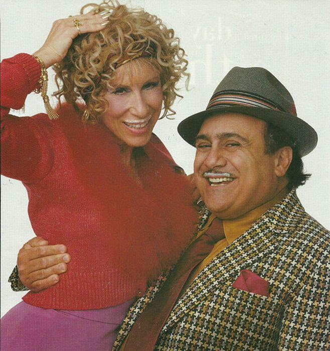 Дэнни Де Вито и Реа Перлман. / Фото: www.buzzfeed.com