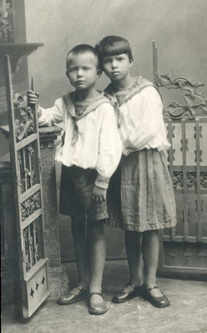 Леонид и Юлия Хрущёвы. / Фото: www.liders.rusarchives.ru
