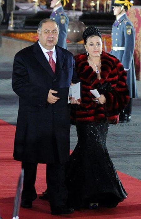 Алишер Усманов и Ирина Винер. / Фото: www.woman.ru